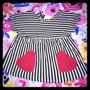 Girl Heart Top